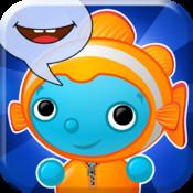 Appli Apprends avec Boing  sous l'océan, vocabulaire logo
