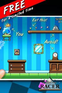 Appli iPhone iPad Fishbowl Racer