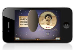 Application iPhone iPad Voici Millie livre interactif