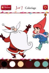 Appli gratuite Deviens Père Noël en 24 jours