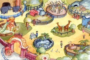 Appli gratuite Livre promenade magique mon zoo
