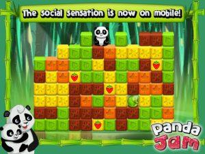 Appli gratuite Panda Jam casse les briques