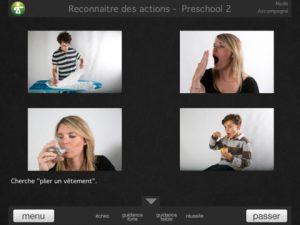 Appli iPad LearnEnjoy pr les enfants atteints d'autisme