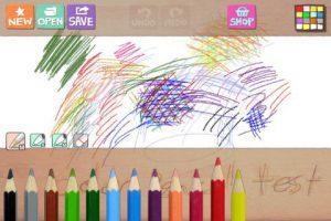Appli iPhone iPad Hello Color Pencil coloriage