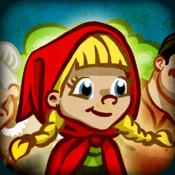 Appli livre Le chaperon rouge de Grimm logo