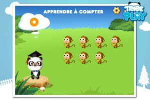 Application gratuite Dr Panda Apprends moi pour apprendre