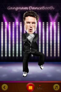 Appli gratuite Gangnam DanceBooth