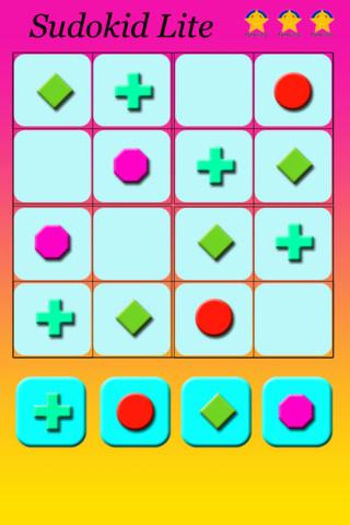 Appli gratuite Sudoku Sudokid Lite