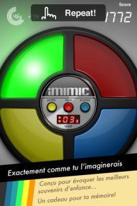 Appli gratuite iMimic dit