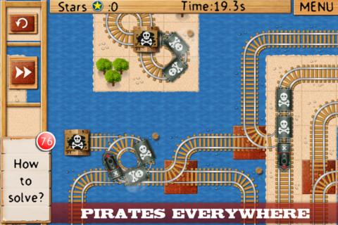Appli iPad train Rail Maze pro