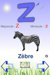 Application gratuite Alphabet +