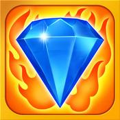 Appli Bejeweled Blitz alignez les gemmes logo