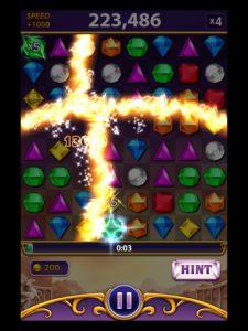 Appli gratuite Bejeweled Blitz alignez les gemmes