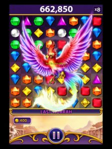 Appli iPhone iPad Bejeweled Blitz alignez les gemmes