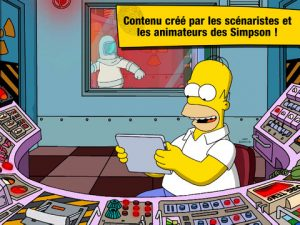 Application gratuite Les Simpson Springfield
