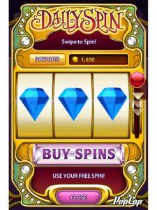 Application  iPhone iPad Bejeweled Blitz alignez les gemmes
