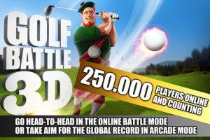 Appli gratuite Golf Battle 3D