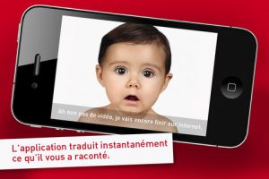 Appli gratuite Parlons bébé
