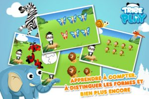 Application iPhone iPad Dr Panda Apprends moi pour apprendre