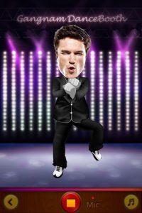 Appli gratuite Gangnam DanceBooth