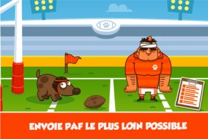 Appli gratuite Paf le chien Rugby