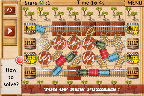 Appli iPhone train Rail maze pro
